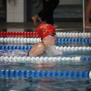 Anna Segerer erreichte den 3. Platz über 50m Brust