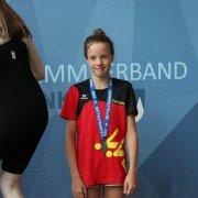 Carlotta Bülck mit Bronze in der Wertung des Mittelfränkischen Nachwuchsmeisters